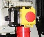 Sierra de cinta móvil de 178 mm de diámetro - cable / correa - 230V