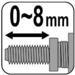 Remachador de remaches Rivet, M3 - M10