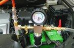 Juego de prueba y relleno del sistema de refrigeracion 6 piezas
