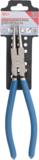 Alicate de puntas (circlip) recto para anillos de retención interiores 250 mm_