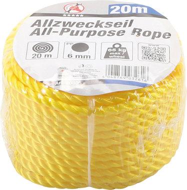 Cuerda Multi-usos, 20 m x 6 mm