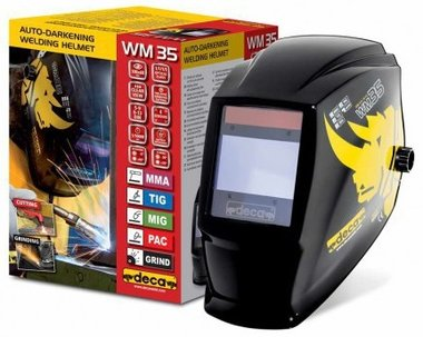 Casco de soldar LCD DIN 9-13