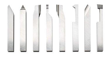 Juego de cinceles de acero inoxidable de 8 piezas de 8 x 8 mm