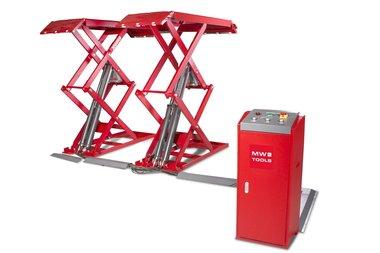 Elevador de tijera 3 toneladas 230v