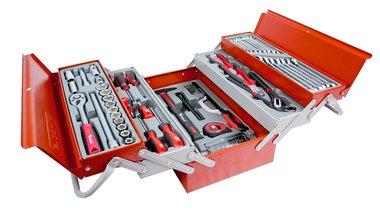 Caja de herramientas de 99 piezas