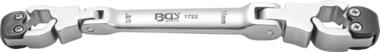 Llaves con función de carraca para tubos de freno, 10x11 mm
