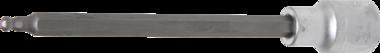 1/2 punta de vaso Int. hex. 5 x 160 mm acabado en bola