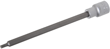 Conector hembra de 1/2 bit, ranura, M5 x 200 mm