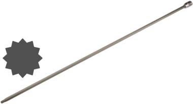 1/2 punta de vaso especial spline (XZN) M8x800 mm