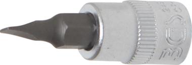 1/4 punta de vaso de perfil plano 4 mm