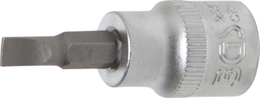 Punta de vaso entrada 10 mm (3/8) plana