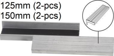 Mordazas de repuesto aluminio anchura