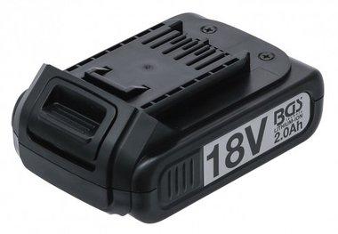 Bateria de repuesto Li-Ion 18 V / 2.0 Ah para pistola de impacto a bateria BGS 9260