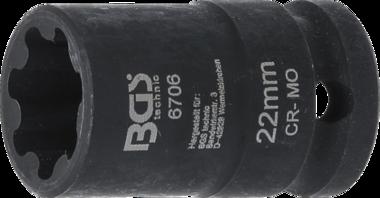 Llave de vaso especial para el silln de freno Audi S5 / Q5