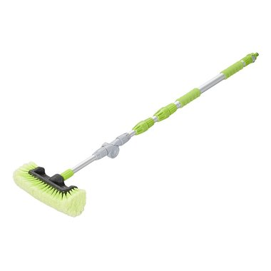 Wash brush 3D adjustable telescopic handle 119-203cm