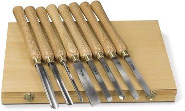 Juego de cortadores de madera 8 pzs