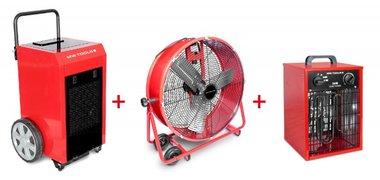 Set secador + ventilador MV600L + calentador 3.3kW