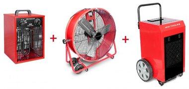 Kit secador BD90P + Ventilador MV600L + Calentador