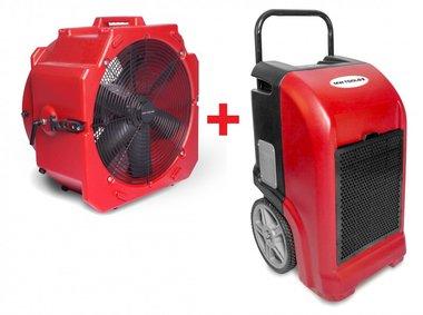 Juego de secadores BDE70 + Ventilador MV500PP