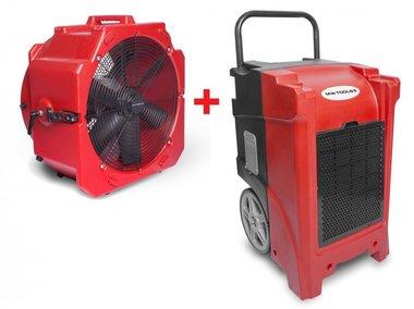 Juego de secadores BDE90 + Ventilador MV500PP
