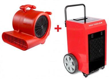 Juego de secadores BD70P + Ventilador RV3000