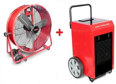 Juego de secadores BD70P + Ventilador MV600L