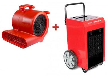 Juego de secadores BD90P + Ventilador RV3000