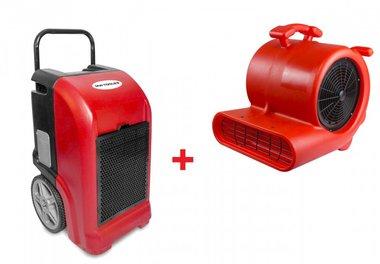 Secador para construccion BDE70 + Ventilador RV3000
