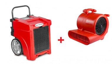 Juego de secadores BDE50 + Ventilador RV3000