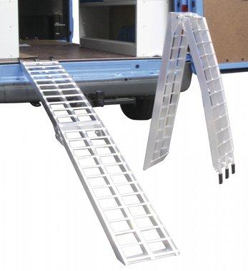 Fijar rampas de aluminio tipo quad