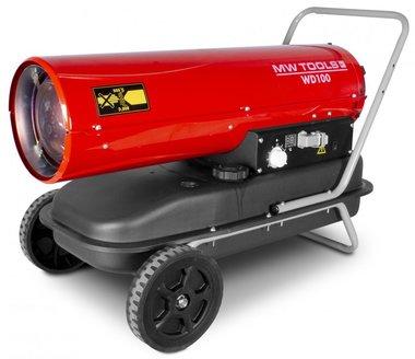 Soplador de aire caliente diesel 30kw con mando a distancia