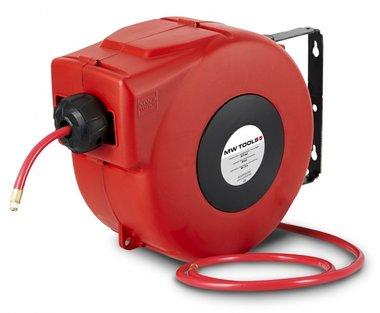 Enrollador de manguera de aire comprimido 7m - 8 mm