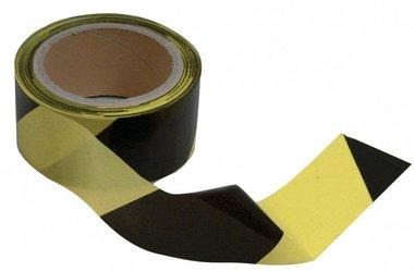 Salida de cinta negro-amarillo 50mm