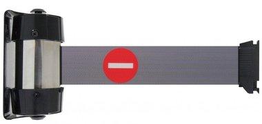 La cinta de barrera prohibe el montaje en la pared 2.1m