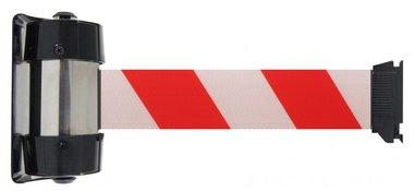 Cinta de barrera blanca/roja de montaje en la pared de 4 metros