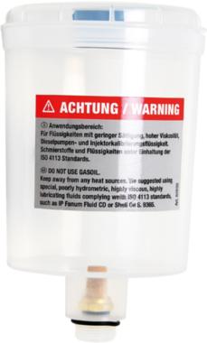 Envase de plastico con tapa para BGS 62650