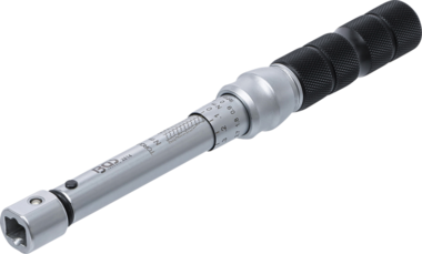 Llave dinamometrica 5 - 25 Nm de 9 x 12 mm cabezales insertables