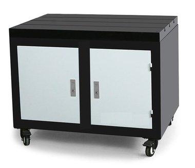 Banco de trabajo movil con encimera de hierro fundido 800x600x875mm