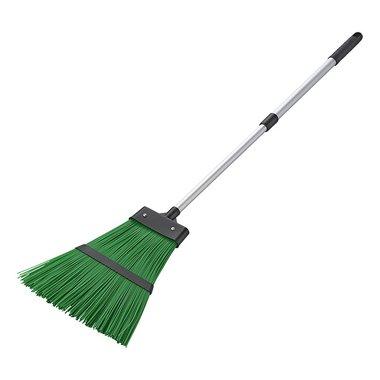 Broom nylon with telescopic handle