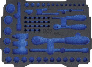 Bgs technic Koffer inlegmodule voor Art. BOXSYS1 & 2  leeg  voor Art. 3351