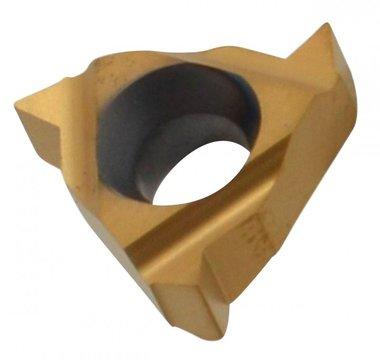 Placa de corte de rosca interior recubierta de 0,5-1,5 mm paso 60°