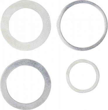 Juego de anillos reductores 4 piezas