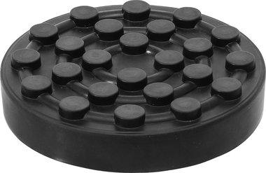 Plato de goma para plataformas elevadoras diametro 123 mm