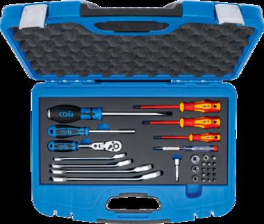 Juego de sanitarios/herramientas calefaccion 29 piezas
