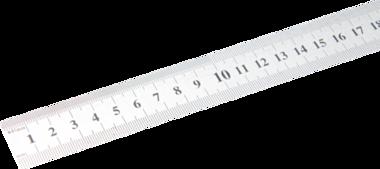 Metro de acero flexible acero inoxidable 0,5 m