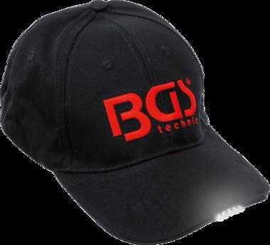 Gorra de beisbol BGS con luz LED