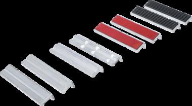 Juego de mordazas de repuesto aluminio 150 mm 8 piezas