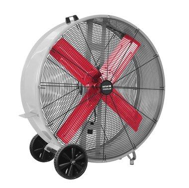 Gran fan de a¸ 900 mm Ideal para la refrigeracion, la ventilacion y el secado de grandes espacios