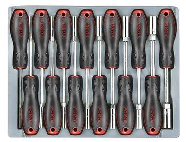 Módulo 13 tomas de un destornillador de 6 lados