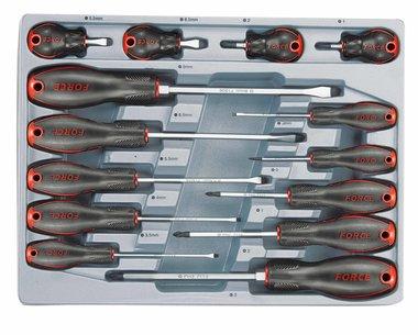 Módulo 14 destornillador para tornillo de ranura y Philips